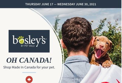 Bosley's by PetValu Flyer June 17 to 30