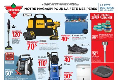 Canadian Tire (QC) Flyer June 17 to 23