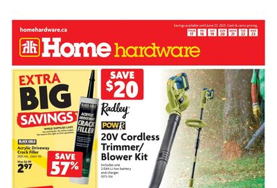 Home Hardware (BC) Flyer June 17 to 23