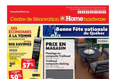 Home Hardware Building Centre (QC) Flyer June 17 to 23