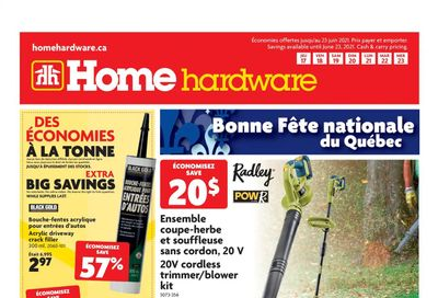Home Hardware (QC) Flyer June 17 to 23