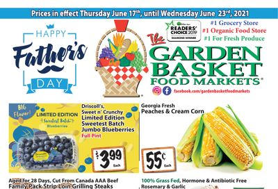 The Garden Basket Flyer June 17 to 23