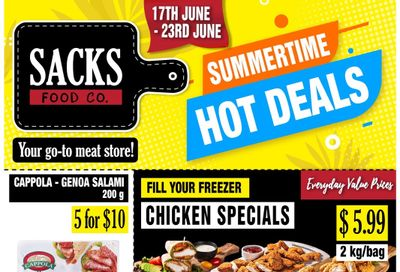 Sacks Food Co. Flyer June 17 to 23