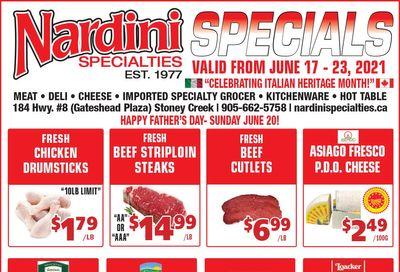 Nardini Specialties Flyer June 17 to 23