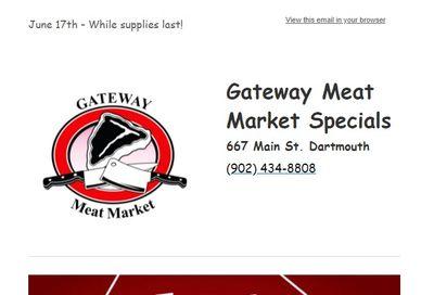 Gateway Meat Market Flyer June 17 to 23