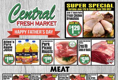 Central Fresh Market Flyer June 17 to 24
