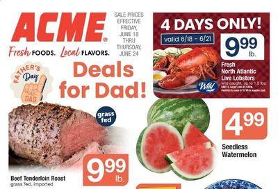 ACME (DE, NJ, NY, PA) Weekly Ad Flyer June 18 to June 24