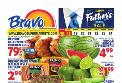 Bravo Supermarkets (CT, FL, MA, NJ, NY, PA) Weekly Ad Flyer June 18 to June 24