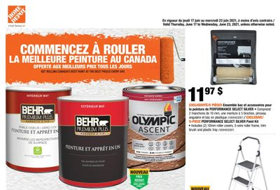 Home Depot (QC) Flyer June 17 to 23