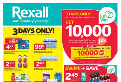 Rexall (West) Flyer June 18 to 24