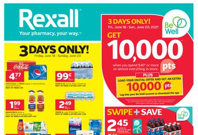Rexall (London, ON) Flyer June 18 to 24