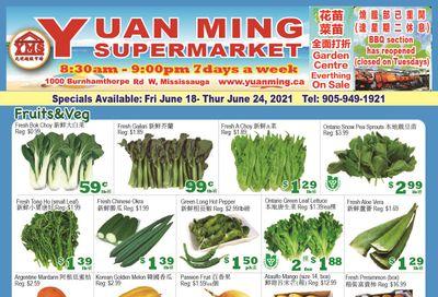 Yuan Ming Supermarket Flyer June 18 to 24