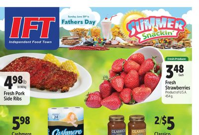 IFT Independent Food Town Flyer June 18 to 24