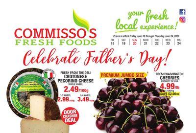 Commisso's Fresh Foods Flyer June 18 to 24
