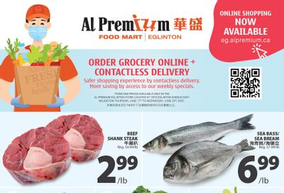 Al Premium Food Mart (Eglinton Ave.) Flyer June 17 to 23