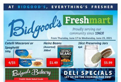 Bidgood's Flyer June 17 to 23