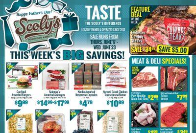 Scoly's Hometown Market Flyer June 17 to 23