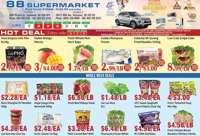 88 Supermarket Flyer June 17 to 23