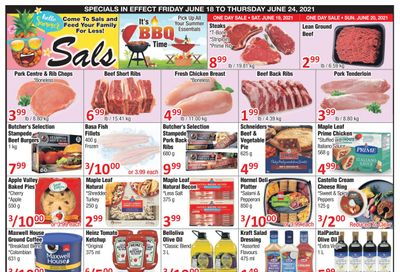 Sal's Grocery Flyer June 18 to 24