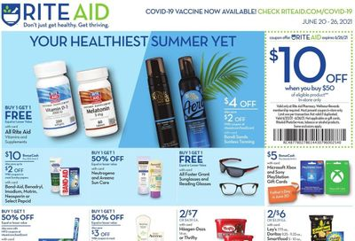 RITE AID Weekly Ad Flyer June 20 to June 26