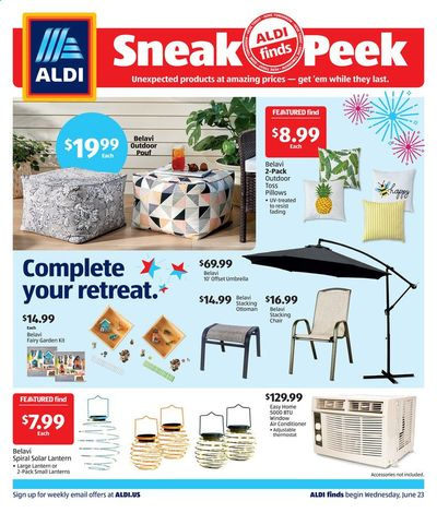 ALDI Weekly Ad Flyer June 23 to June 29