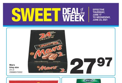 Wholesale Club Sweet Deal of the Week Flyer June 17 to 23