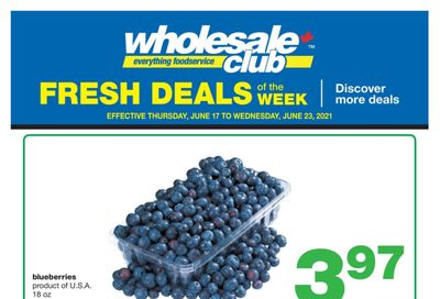 Wholesale Club (West) Produce Deal of the Week Flyer June 17 to 23