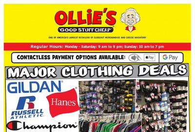 Ollie's Bargain Outlet Weekly Ad Flyer June 17 to June 23