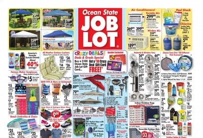 Ocean State Job Lot (CT, MA, ME, NH, NJ, NY, RI) Weekly Ad Flyer June 17 to June 23