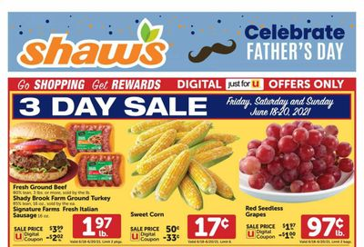 Shaw's (MA, ME, NH, RI, VT) Weekly Ad Flyer June 18 to June 24