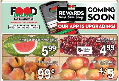 Food Bazaar (CT, NJ, NY) Weekly Ad Flyer June 17 to June 23