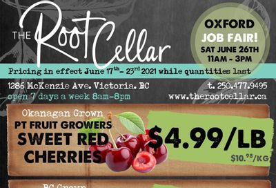 The Root Cellar Flyer June 17 to 23