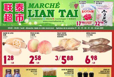 Marche Lian Tai Flyer June 17 to 23