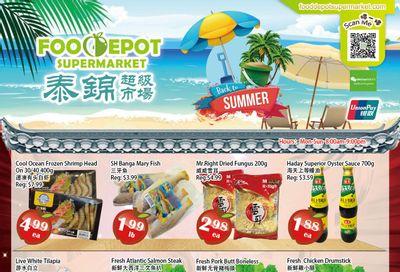 Food Depot Supermarket Flyer June 18 to 24