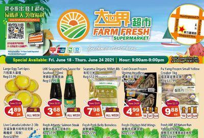 Farm Fresh Supermarket Flyer June 18 to 24