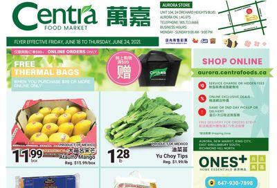 Centra Foods (Aurora) Flyer June 18 to 24