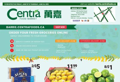 Centra Foods (Barrie) Flyer June 18 to 24