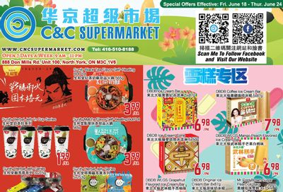 C&C Supermarket Flyer June 18 to 24