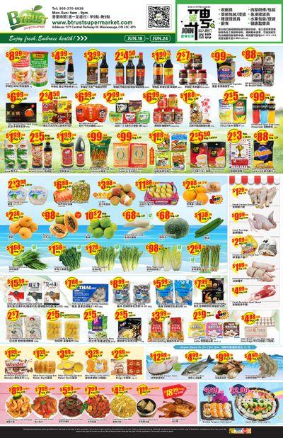 Btrust Supermarket (Mississauga) Flyer June 18 to 24