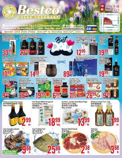 BestCo Food Mart (Scarborough) Flyer June 18 to 24
