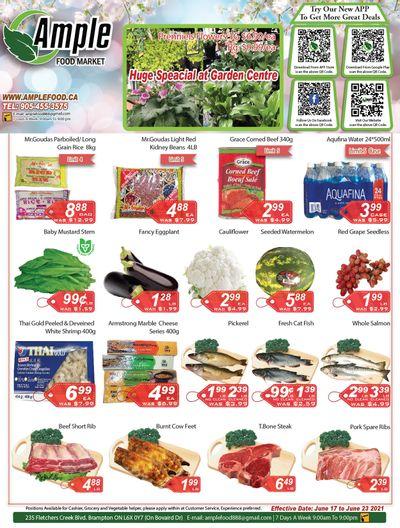 Ample Food Market (Brampton) Flyer June 18 to 24