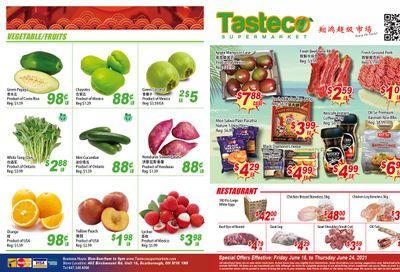 Tasteco Supermarket Flyer June 18 to 24