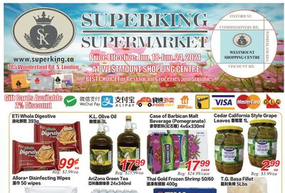 Superking Supermarket (London) Flyer June 18 to 24