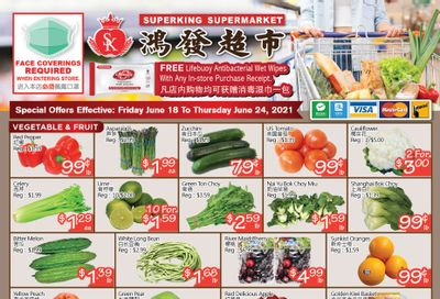 Superking Supermarket (North York) Flyer June 18 to 24
