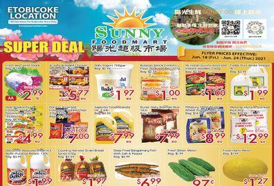 Sunny Foodmart (Etobicoke) Flyer June 18 to 24