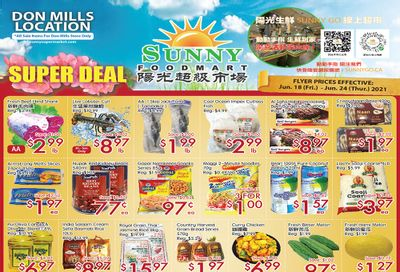 Sunny Foodmart (Don Mills) Flyer June 18 to 24