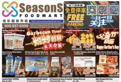 Seasons Food Mart (Thornhill) Flyer June 18 to 24
