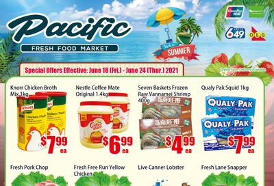 Pacific Fresh Food Market (North York) Flyer June 18 to 24