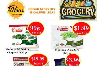 Noor Food Market Flyer June 18 to 24