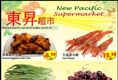 New Pacific Supermarket Flyer June 18 to 21